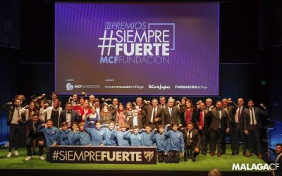 Down Málaga recibe el premio 'Entidad Social 2019' en los III Premios #SiempreFuerte