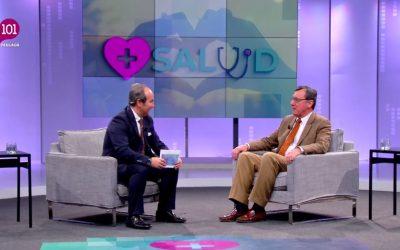 """Entrevista al presidente de Down Málaga en el programa de televisión """"Más Salud"""""""