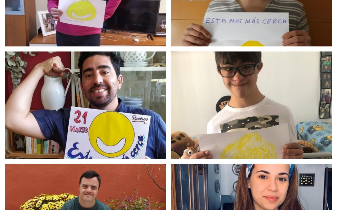 Así se celebró el atípico Día Mundial del Síndrome de Down 2020 en España