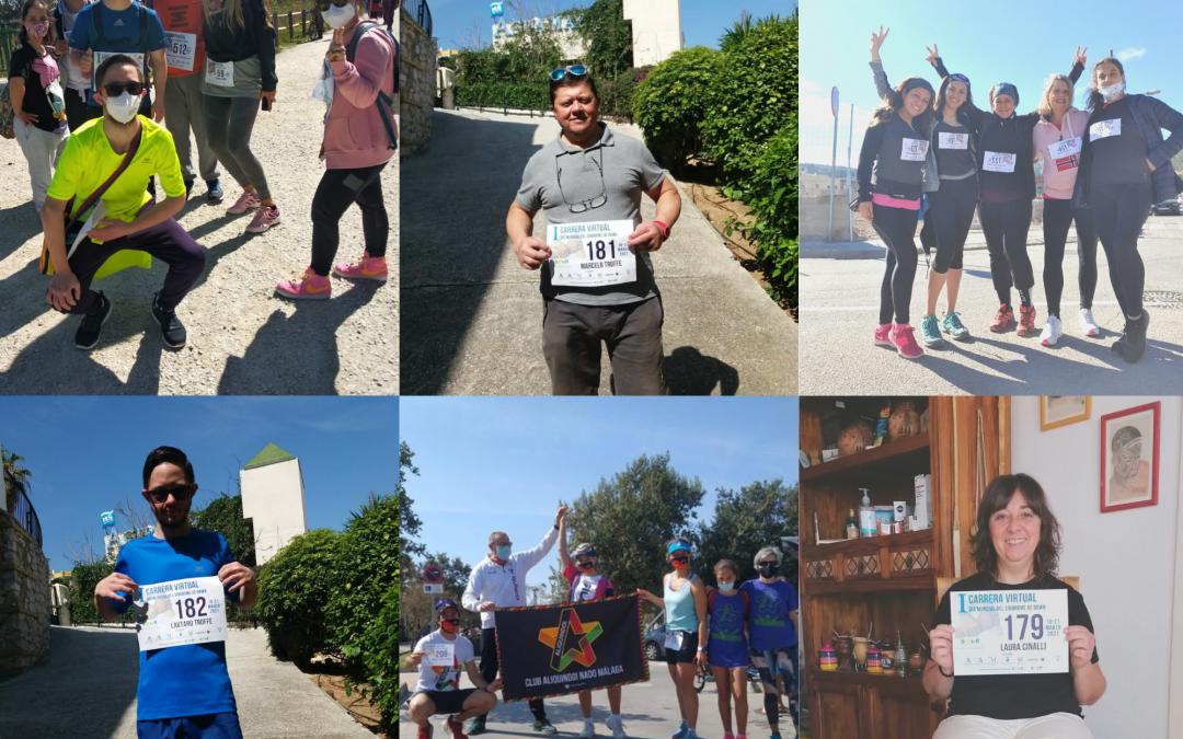 Más de 1.000 personas participan en la I Carrera Solidaria en beneficio de Down Málaga